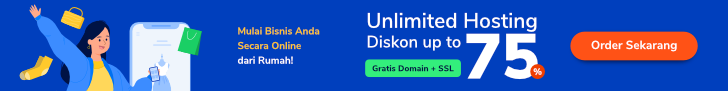 Banner Unlimited Hosting Indonesia