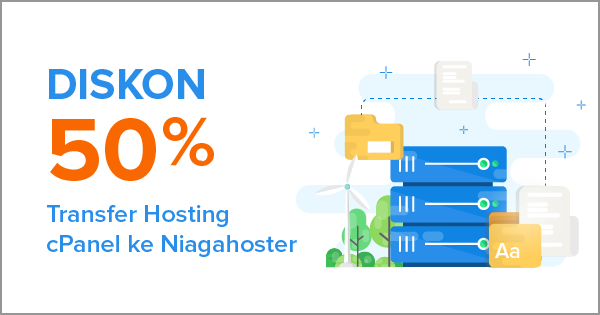 Diskon 50% Transfer Hosting