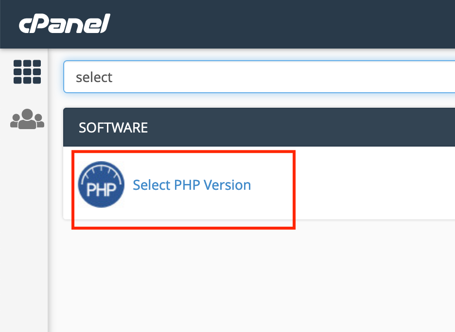 select php