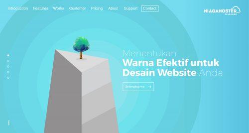Menentukan Warna Efektif untuk Desain Website Anda