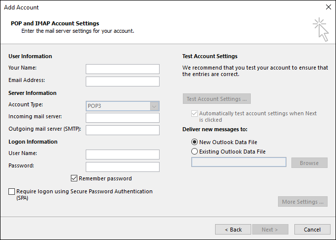 cara setting email di outlook3