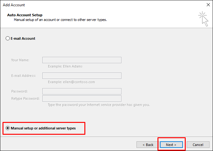 setting email di outlook1