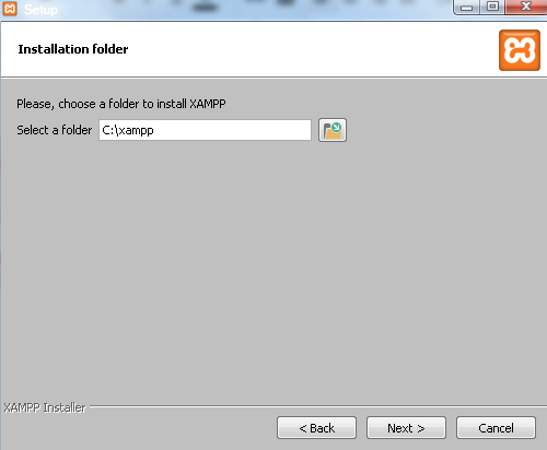 instal xampp di windows 7
