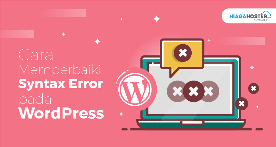 how to fix a syntax error in wordpress