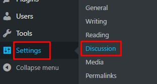 discusstion wordpress