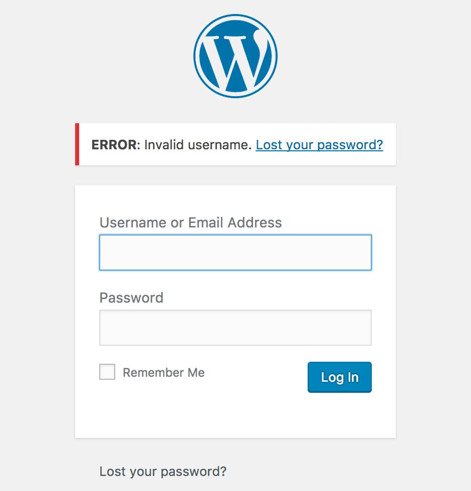 tidak bisa login wordpress