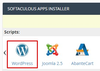 instal wordpress