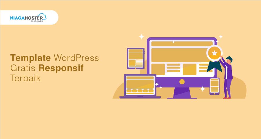 Template WordPress Gratis untuk Website Responsif