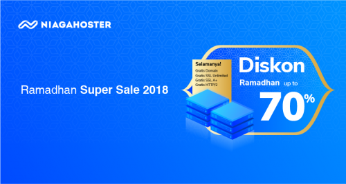 Niagahoster Ramadhan Super Sale 2018