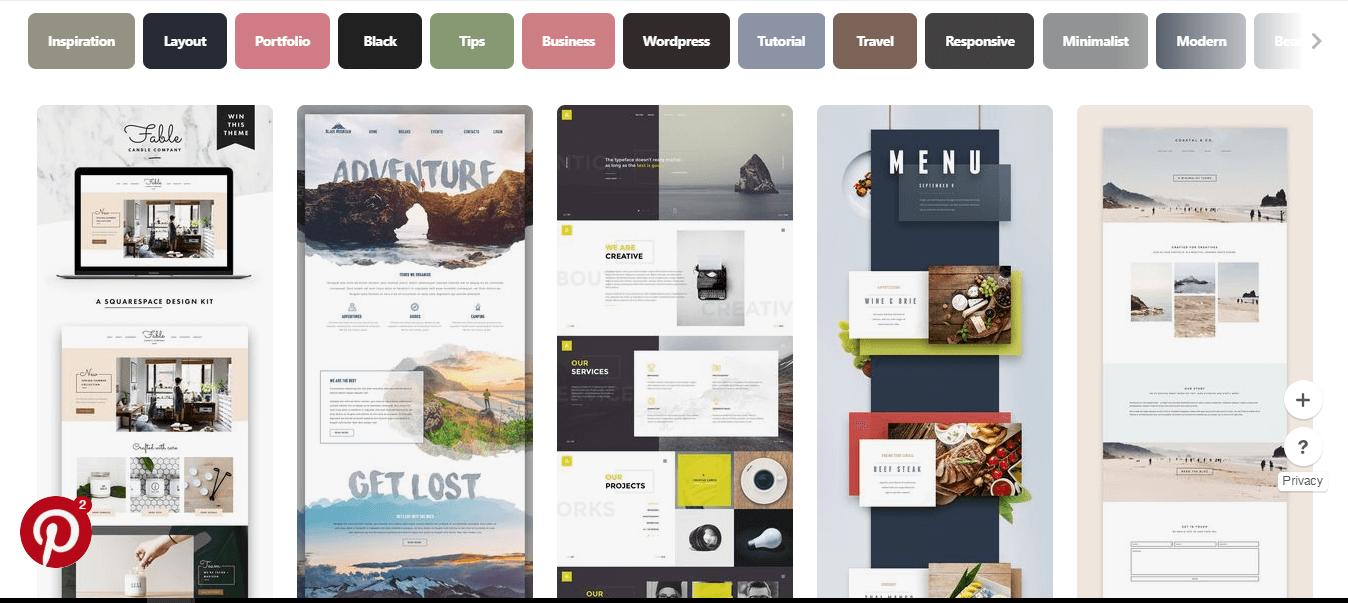 desain web terbaik