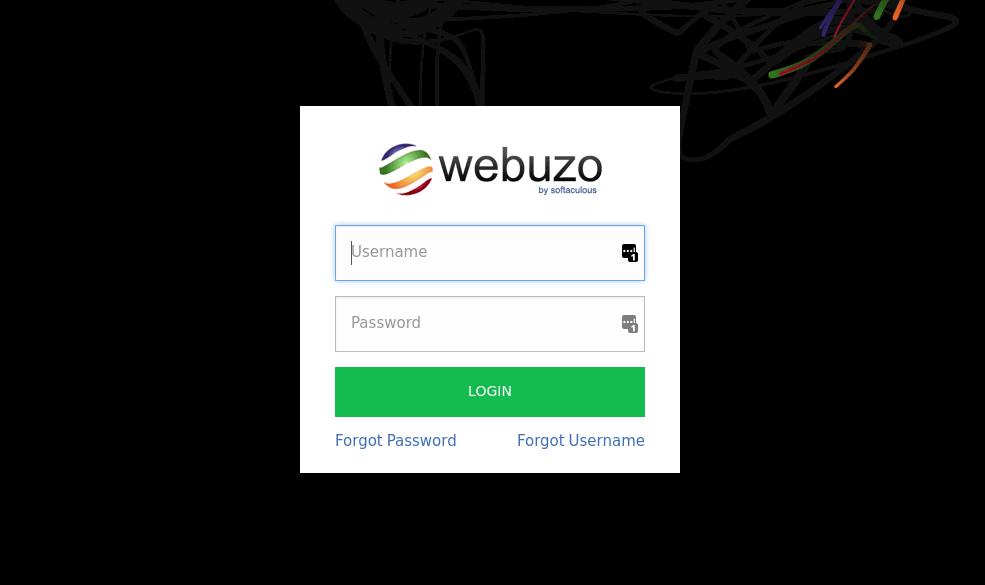 cara instal webuzo - login webuzo