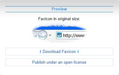 cara membuat favicon contoh