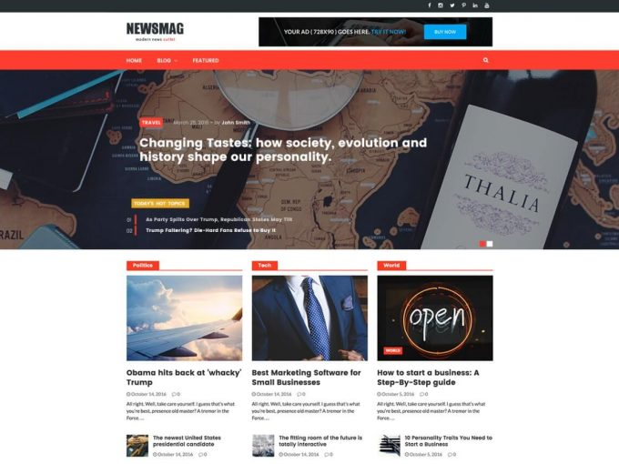 NewsMag-free-template