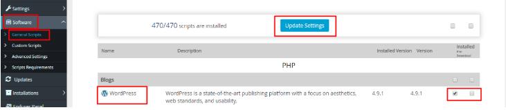 cara install wordpress di vps script