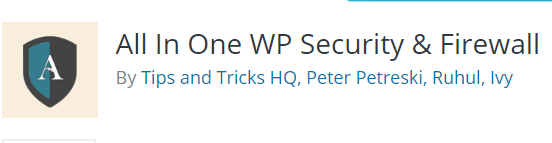 plugin security wordpress terbaik all in one