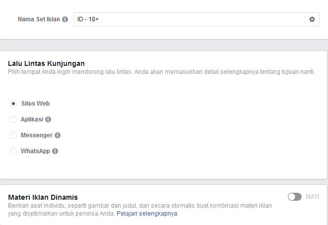cara membuat facebook ads nama