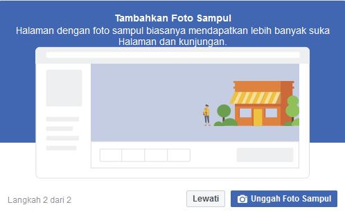 cara membuat halaman di facebook sampul