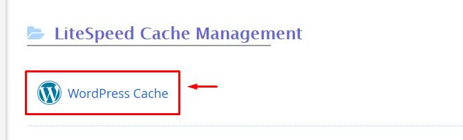 install litespeed cache 2