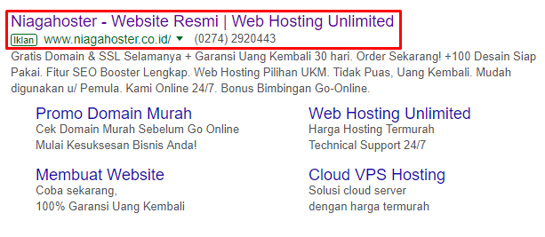 search engine marketing iklan