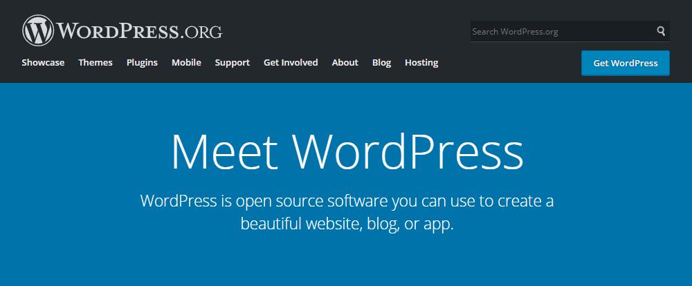 Platform blog - WordPress dot org