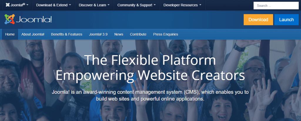 Platform blog - Joomla