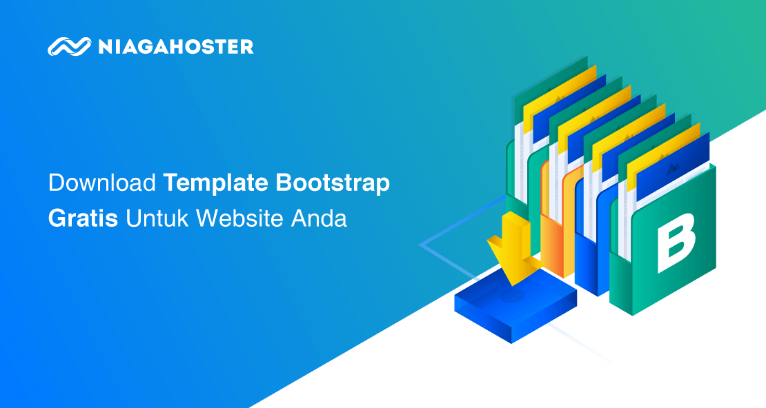download template bootstrap