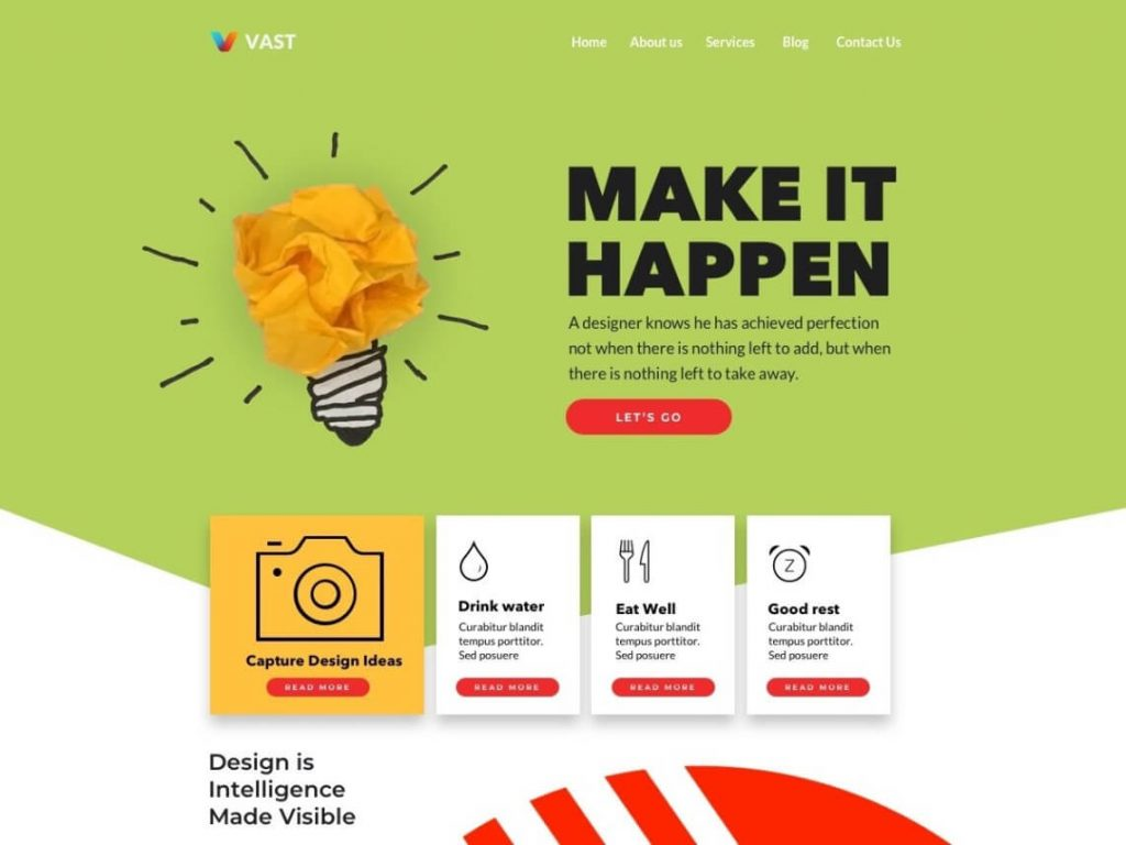 25. template wordpress terbaru vast