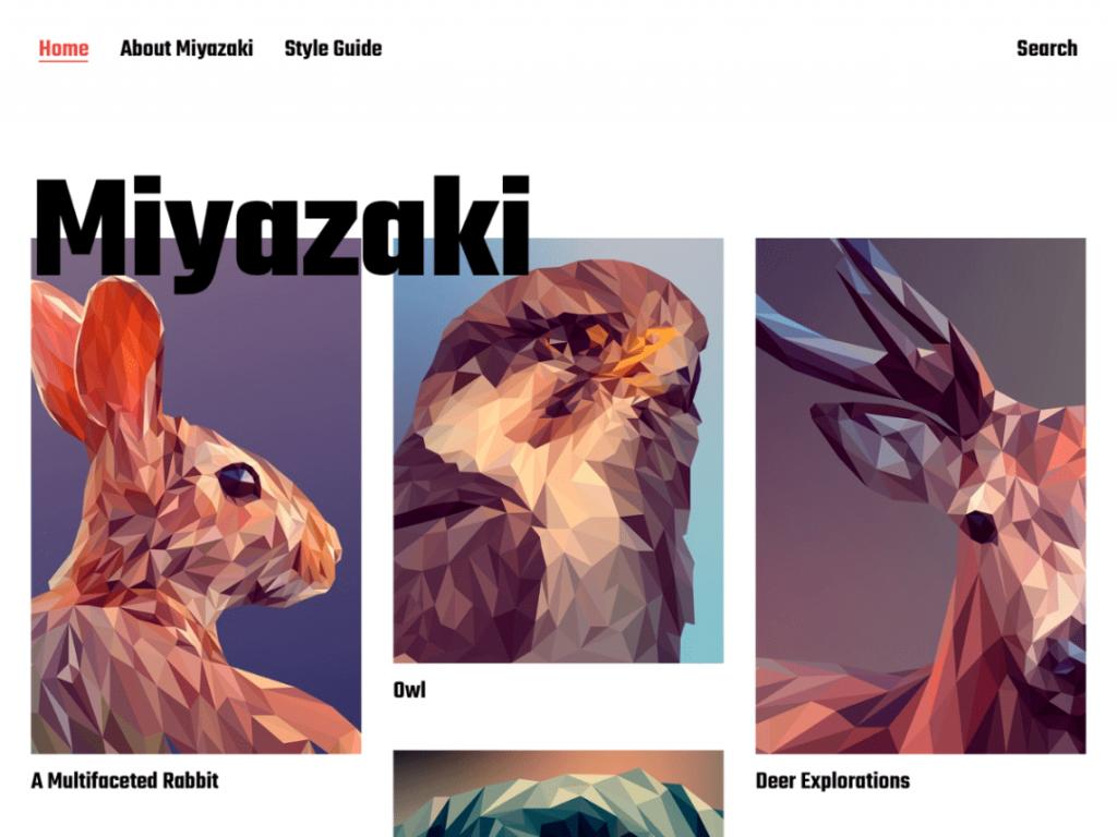26. tema wordpress terbaru miyazaki