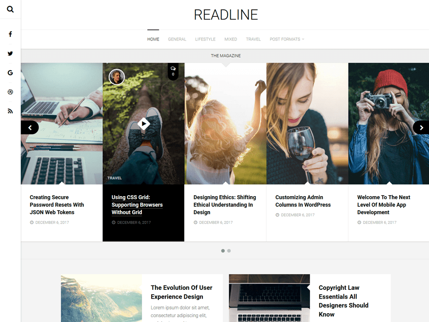 35. template wordpress terbaru readline