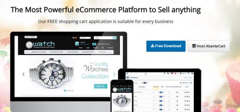 cms toko online abantecart