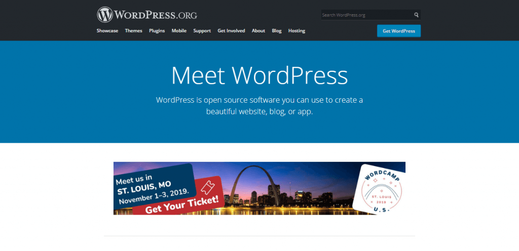 drupal vs wordpress halaman utama