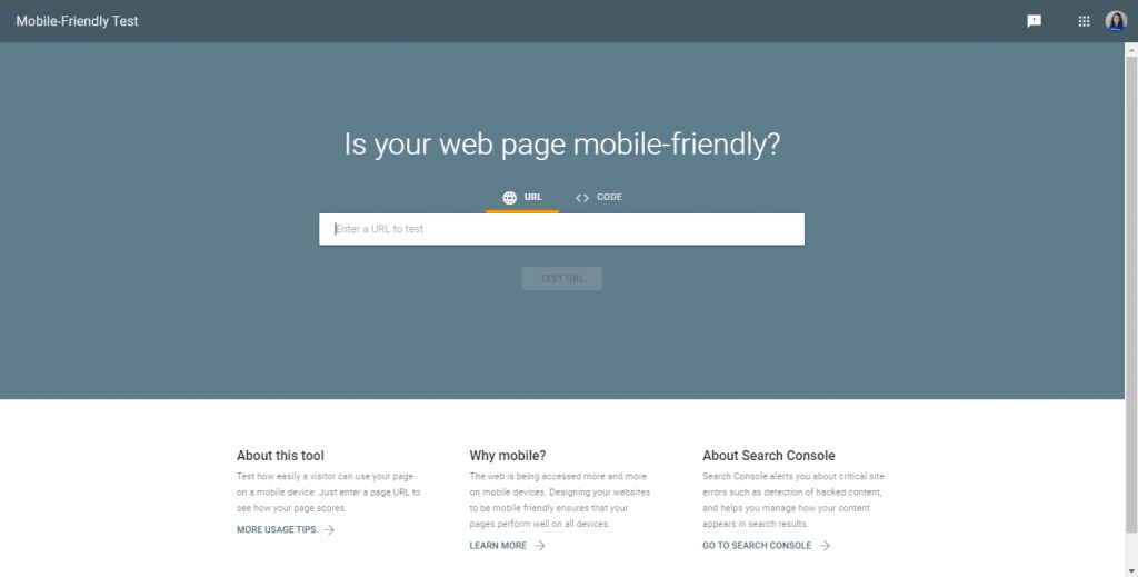 mobile friendly test google cara membuat website sendiri