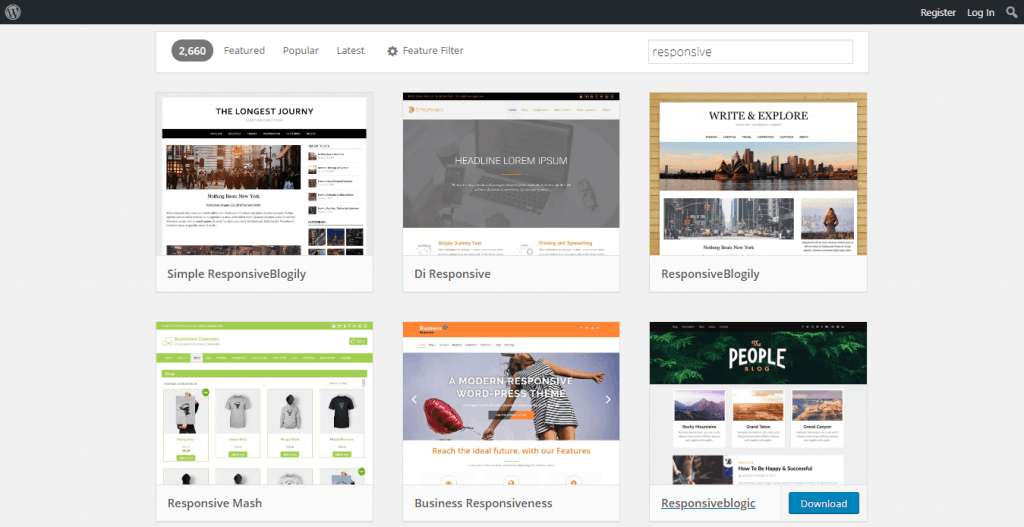 tema responsive wordpress