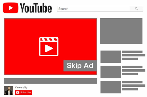 youtube adsense skippable