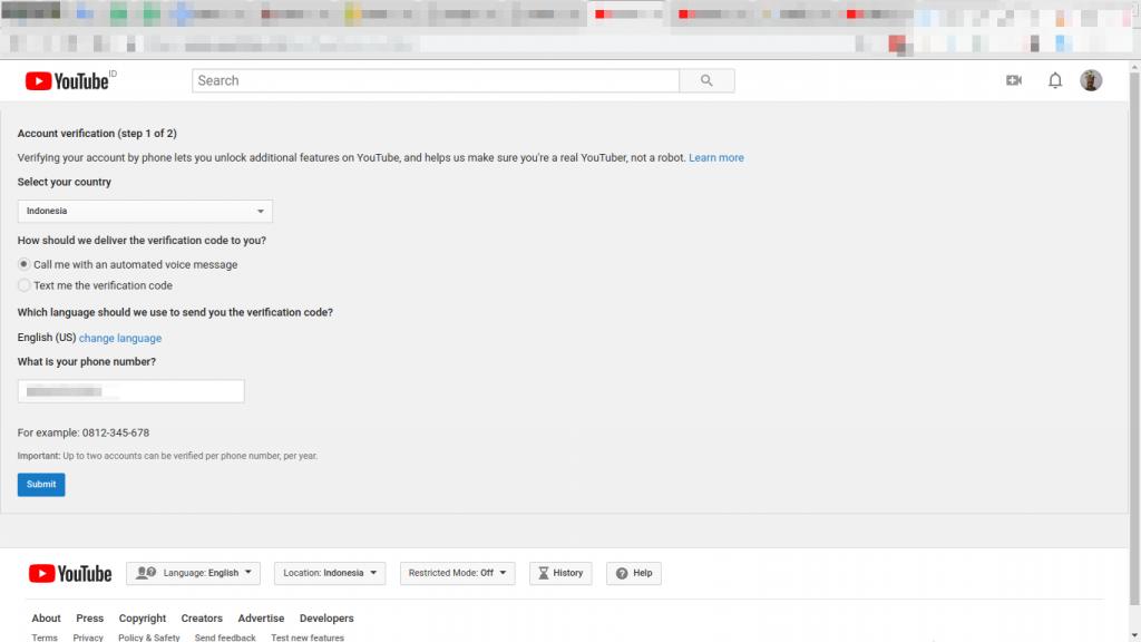 syarat dan cara daftar adsense youtube