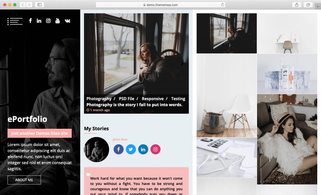 15 Template Web Portofolio Terbaru Pilihan Terbaik