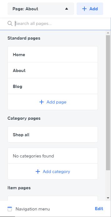 daftar halaman weebly