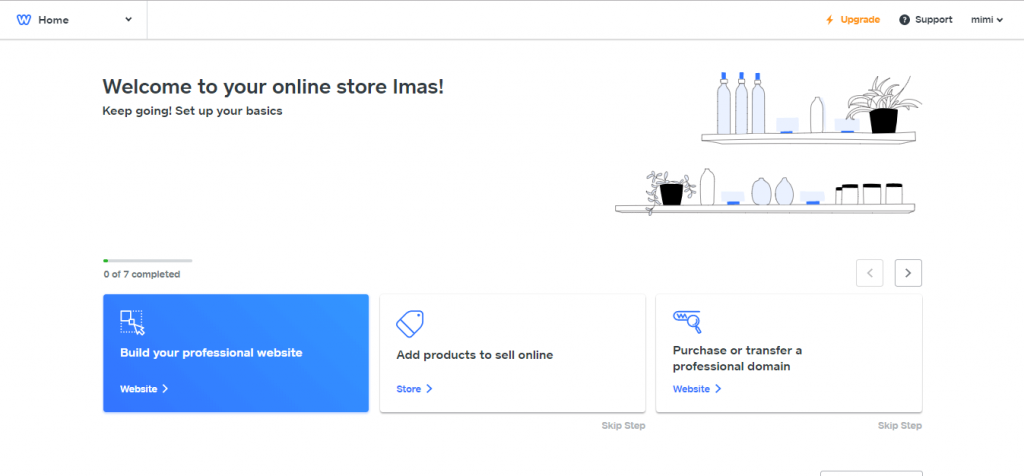 weebly online store customization