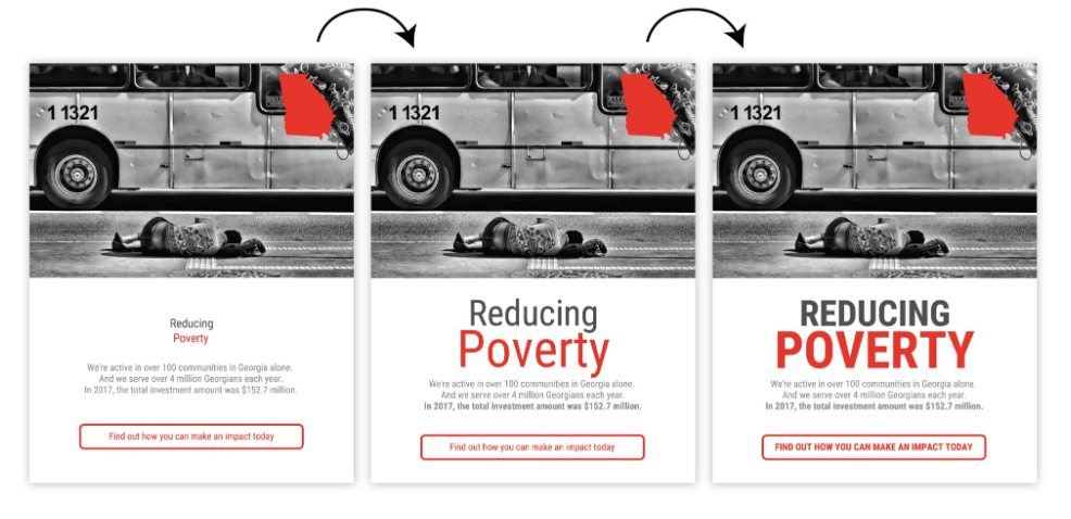 Menentukan jenis font untuk Infografis