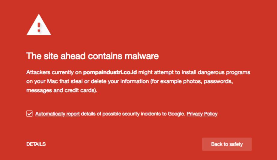 cara menghindari blacklist google yang disebabkan malware