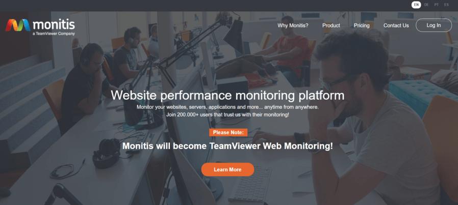 website monitoring terbaik salah satunya adalah Monitis