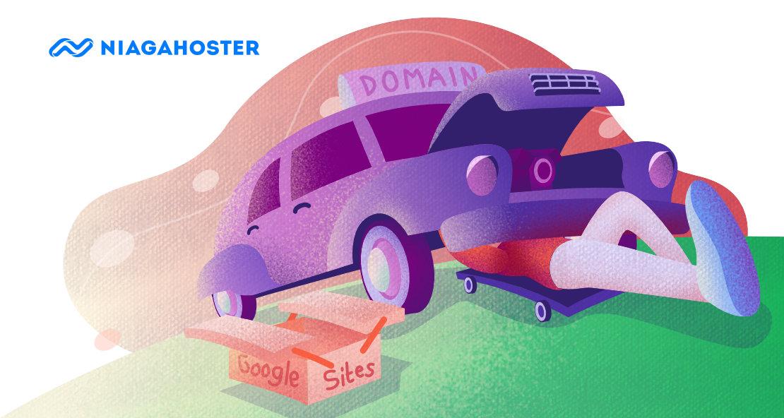 cara custom domain ke google sites