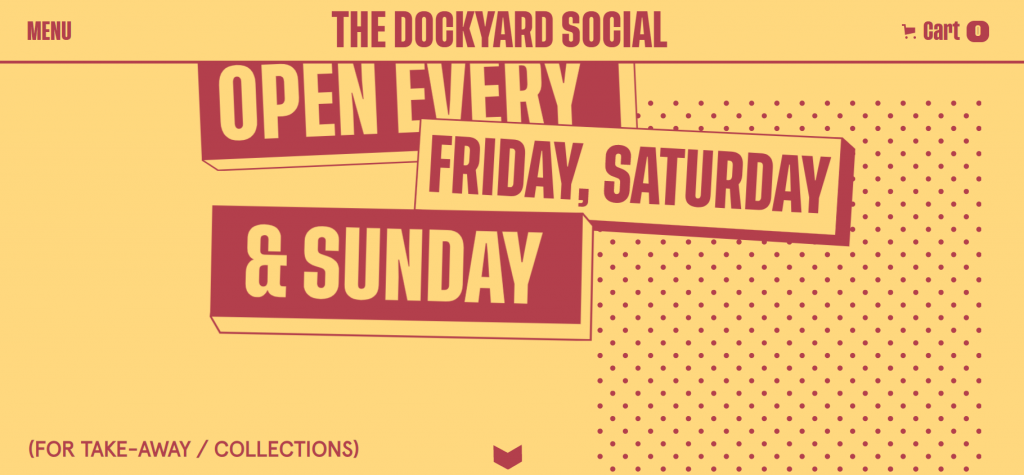 Contoh Parallax Website The Dockyard Social