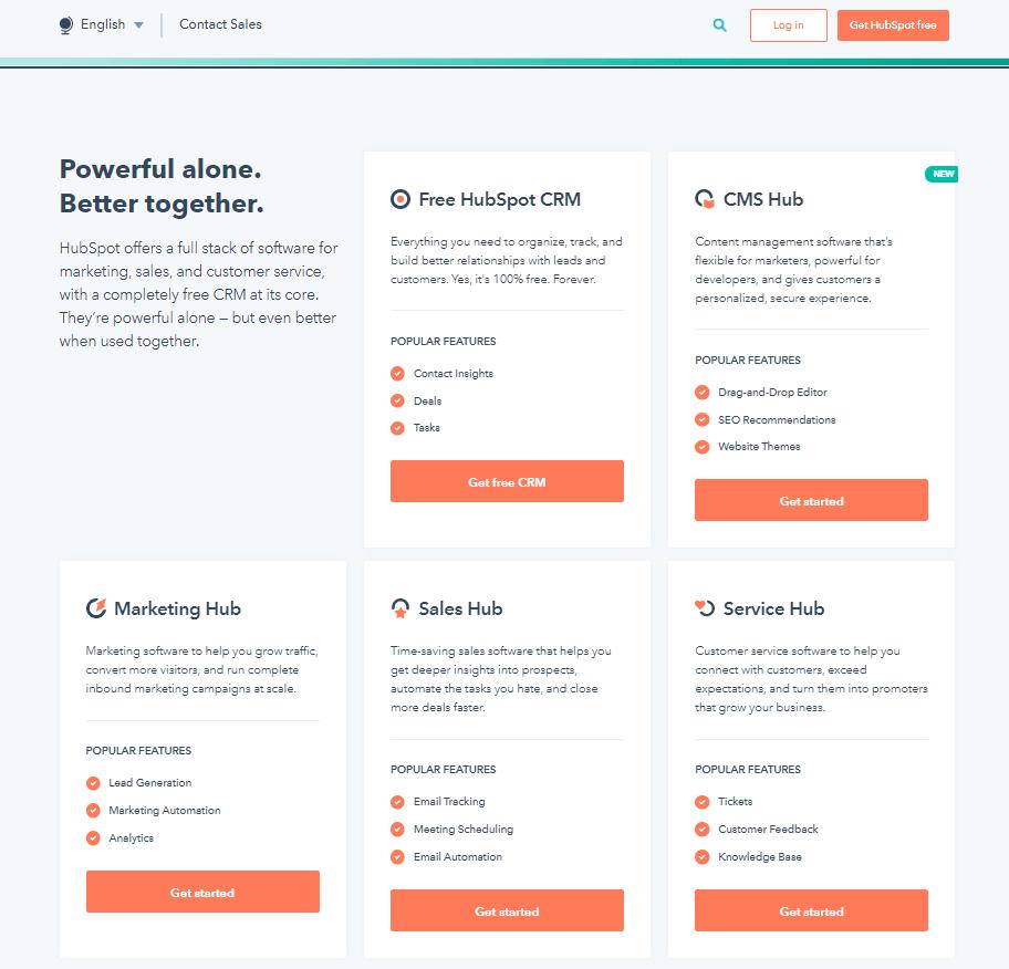 Website Layout HubSpot