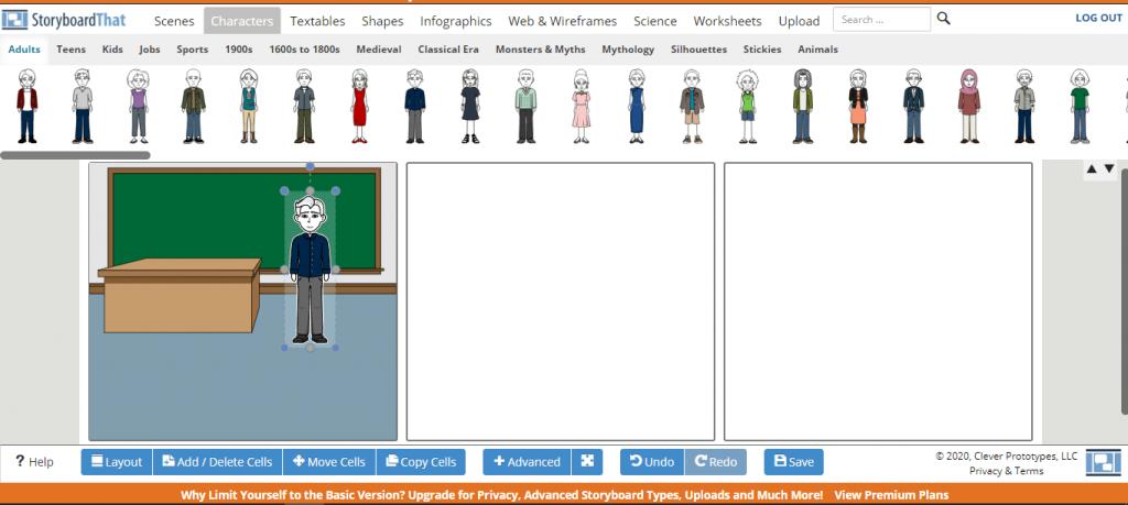 software storyboard